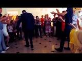 Красивая Лезгинка на Русской Свадьбе 2013