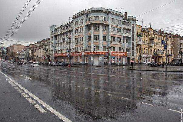 Дождливый Ростов-на-дону
