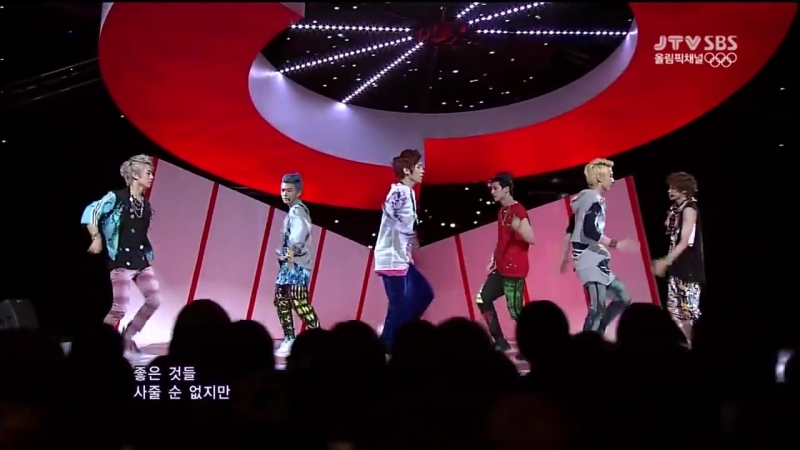 TEEN TOP - Be Ma Girl (Comeback Stage)
