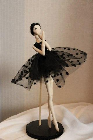Балерины своими руками фото