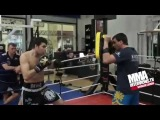 Artem Levin Workout for Lion Fights against Simon Marcus for WBC Muay Thai Light Heavyweight Title