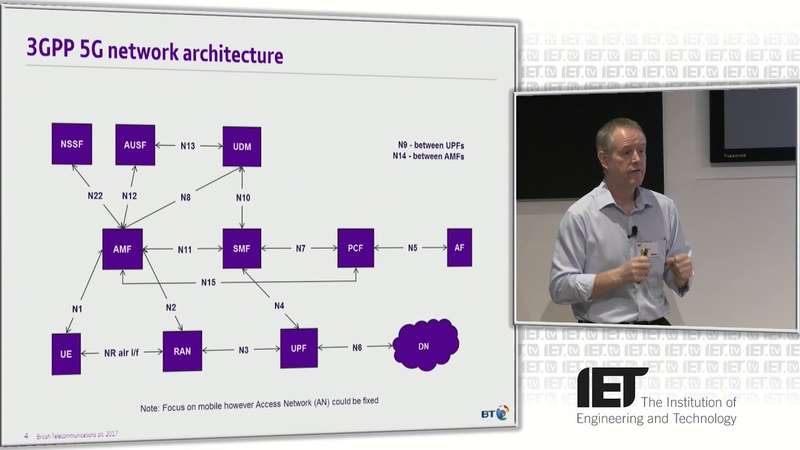 5G Network Architecture by Andy Sutton (IET 2018 Turing)