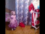 Дед мороз у нас в гостях) Стих Ульяны)