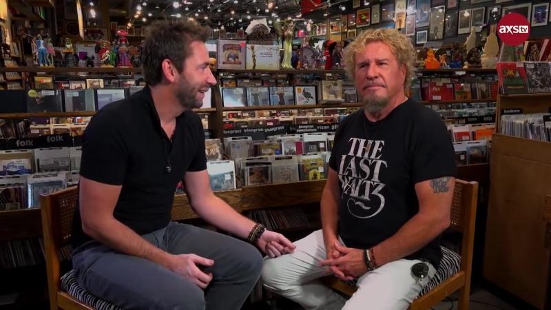 Chad Kroeger Sammy Hagar interview 2018 (Rock Roll Road Trip Episode 303 Deleted Scenes w_ Chad Kroeger)
