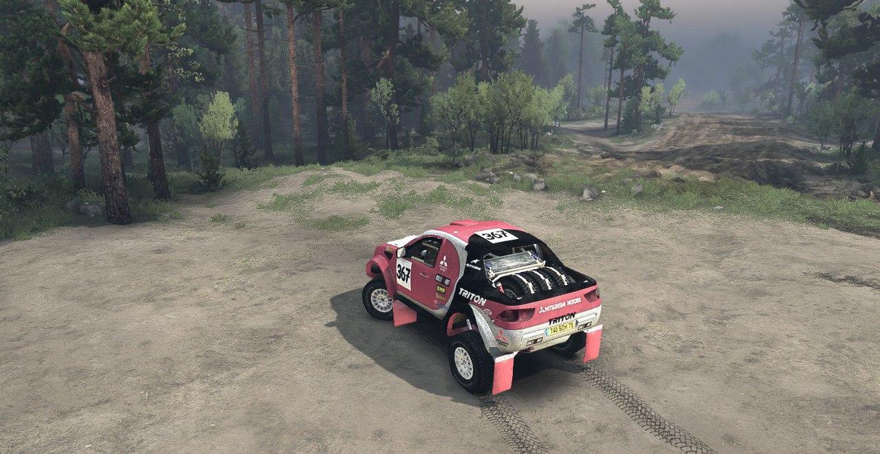 Mitsubishi l200 Triton для Spintires - Скриншот 2