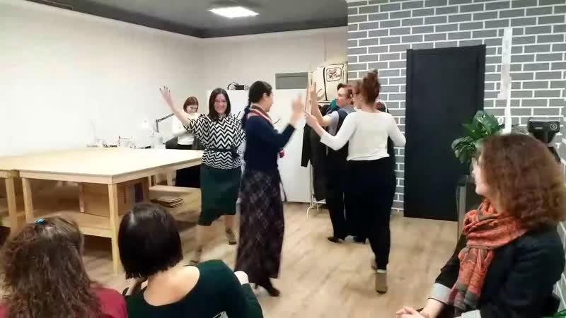Танец Чакарера на лекции дуэта La Melincue
