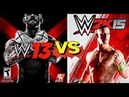 WWE 13 Finishers VS WWE 2K15 Finishers Comparison😍👏 WHO IS THE BEST😍👏