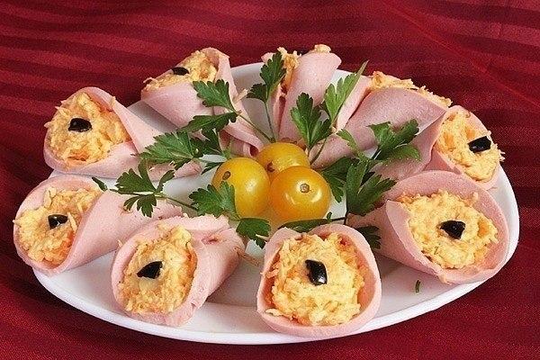 Вкусные салаты с печенкой с фото
