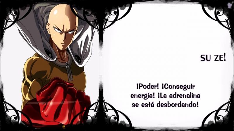 One Punch Man OP - The Hero [Sub Español Karaoke]
