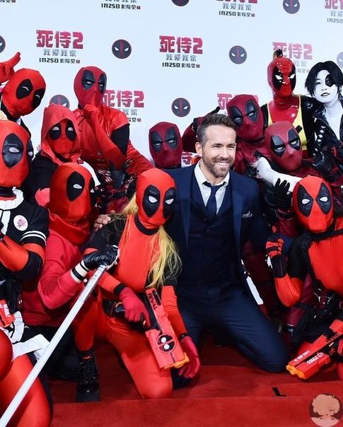 Райан Рейнольдс отложил операцию ради премьеры «Дэдпула 2» в Китае