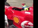 Felipe Massa driving the Ferrari 248F1 at Suzuka