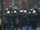 Tuča navijača u centru Novog Sada
