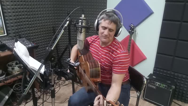Николай Локтионов в студии Радиал рекордс r records каметрон48