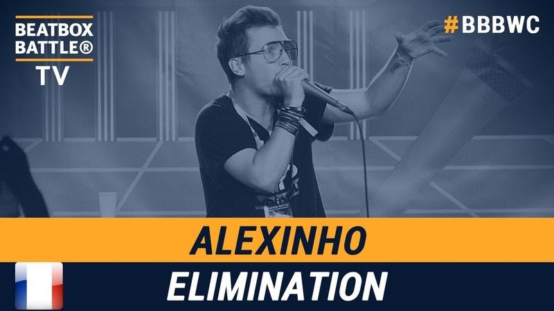 Alexinho from France - Men Elimination - 5th Beatbox Battle World Championship