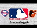 Philadelphia Phillies vs Baltimore Orioles 12 07 2018 IL MLB 2018 1 1