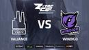 Valiance vs Windigo, map 1 train, ZOTAC Cup Masters 2018 Europe Finals