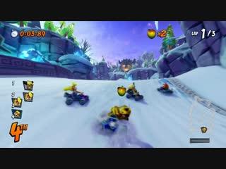 Crash Team Racing Nitro-Fueled single player and split-screen
