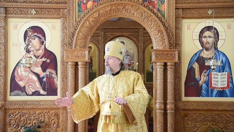 Проповедь митрополита Иоанна за Божественной литургией в семинарском храме