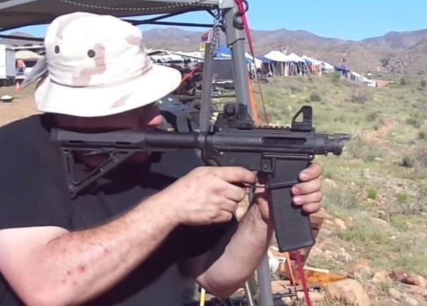 Американцы сделали винтовку со стволом короче патрона