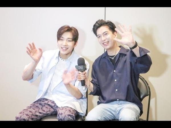 Jongup 종업 Jun CurryAhn 안준성 exclusive interview at KCON New York 2019! KCON 紐約文鐘業 安俊成專訪 B.A.P 비에이피