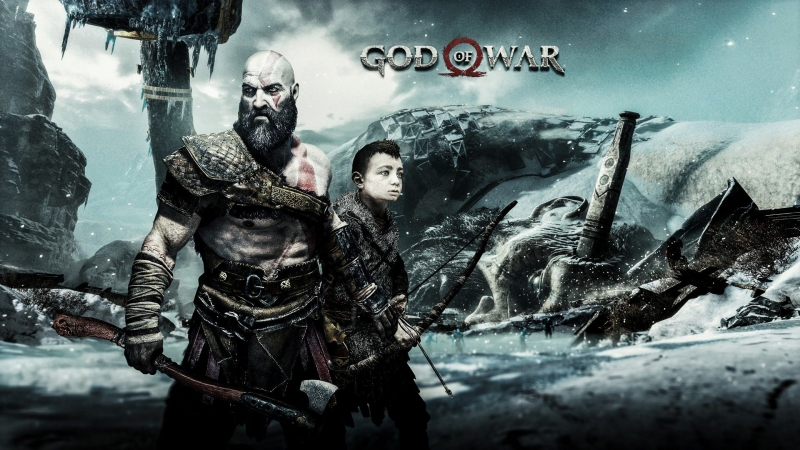 Рвём и кромсаем God of War 4 стрим 4