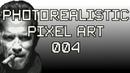 Arnold Schwarzenegger Photorealistic Pixel Art 004 Perler Beads Bügelperlen