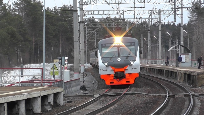 Электропоезд ЭД4М-0474 ЦППК, электровоз ВЛ10-781