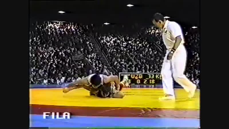 ОИ-1996 57 кг Дамир Захардинов (Узбекистан)-АРТУР ФЕДОРОВ (Казахстан-САХА)