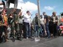 Донецк 31 мая 2014 г Павел Губарев. Александр Бородай. митинг на пл.Ленина.