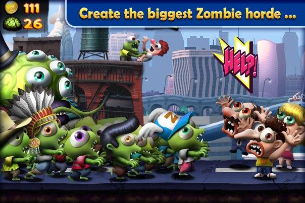 Скачать Zombie Tsunami для android