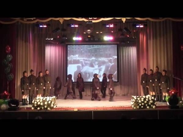 Ансамбль военно-патриотической песни клуба Патриот и танцевальный коллектив Талисман