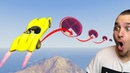"""Speedy"" RAKETENAUTO SKILL TEST ( DOWNLOAD) | GTA 5 - CUSTOM MAP RENNEN"