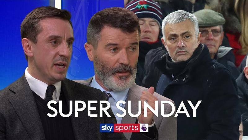 Roy Keane Gary Neville on whether sacking Mourinho would fix Man United's problems | Super Sunday