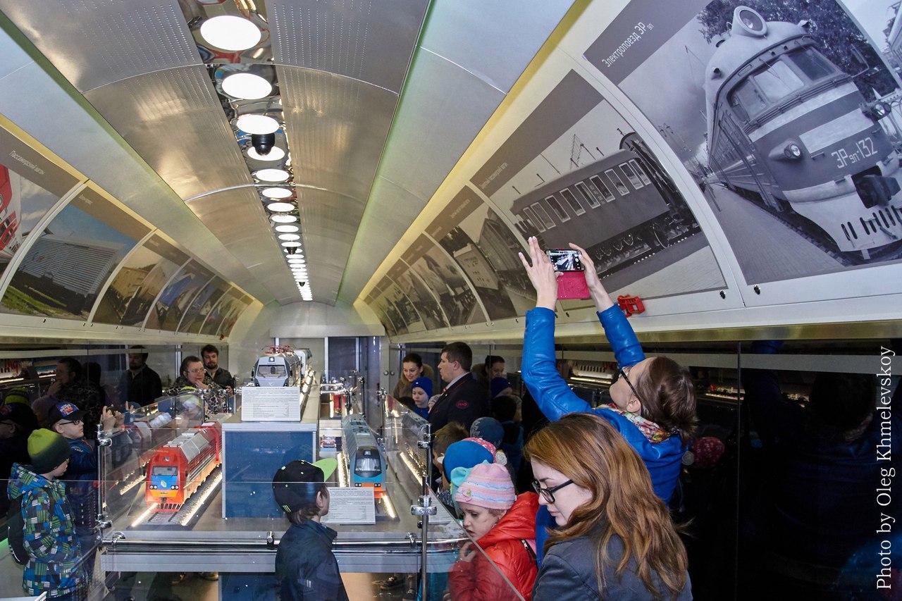 Таганрожцы смогут посетить передвижной выставочно-лекционный комплекс ОАО «РЖД»