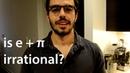 Is e Pi irrational