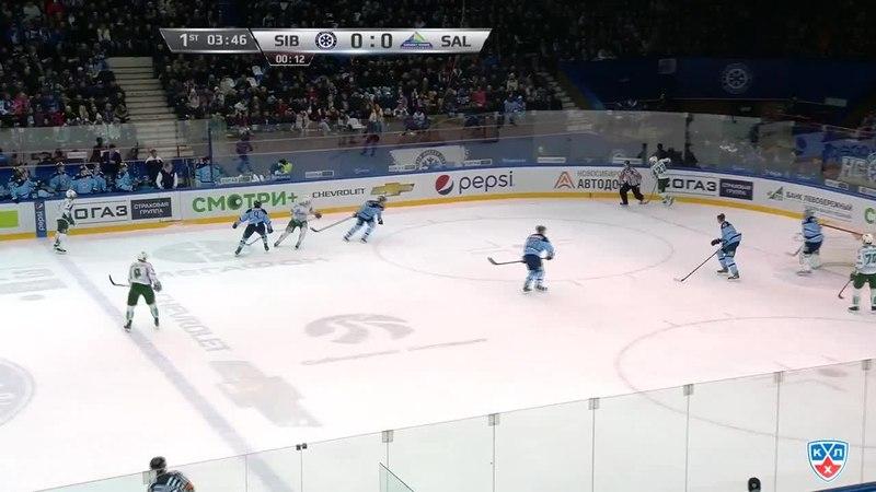 Моменты из матчей КХЛ сезона 14/15 • Гол. 0:1. Слепышев Антон (Салават Юлаев) открывает счет матча в большинстве 17.02
