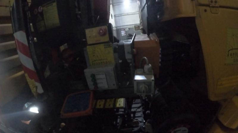 Пропала связь пульта управления HBC Radiomatic с приемником на манипуляторе Fassi F85