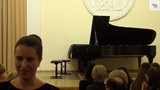Франц Шуберт. Два экспромта D. 935 №2 As-dur, №4 f-moll Анастасия Милованова фортепиано
