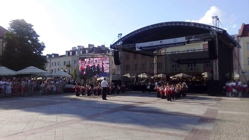 X Międzynarodowy Festiwal Orkiestr Dętych w Białymstoku 10.06.18