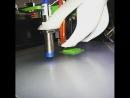 3dPrinter на стероидах! После замены роликов на профессиональные рельсов направляющие с опорным модулем принтер стал показыват