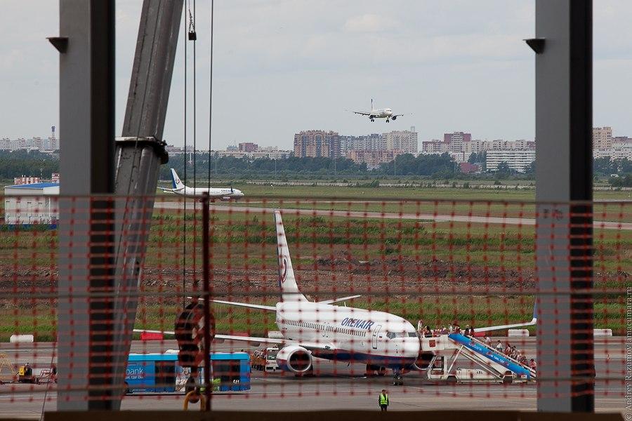 аэропорт новый терминал Пулково 3