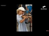 Amazing young girl playing a song on violin
