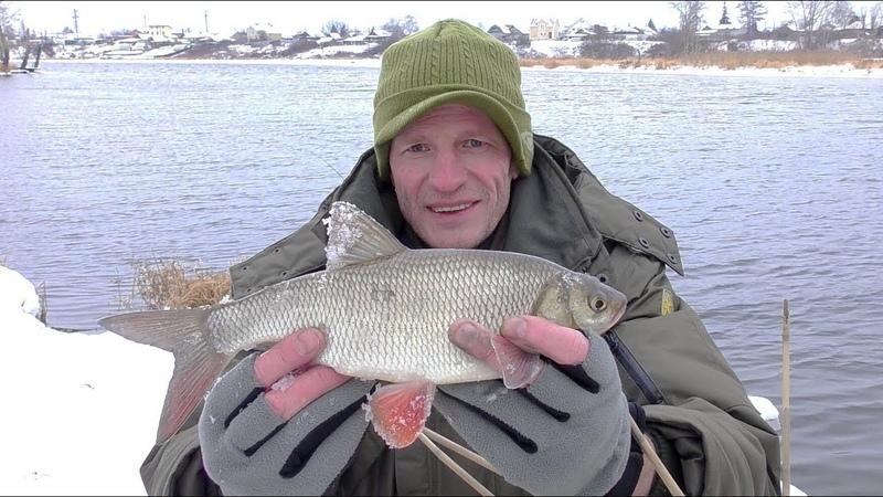 Вот это Язь! Зимняя рыбалка на Летний фидер! Ловля зимой на фидер 2019