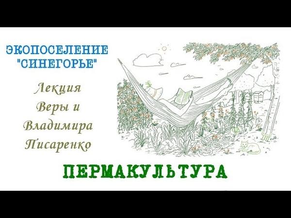 Лекция Пермакультурный дизайн в эко поселении Синегорье Ведруссия