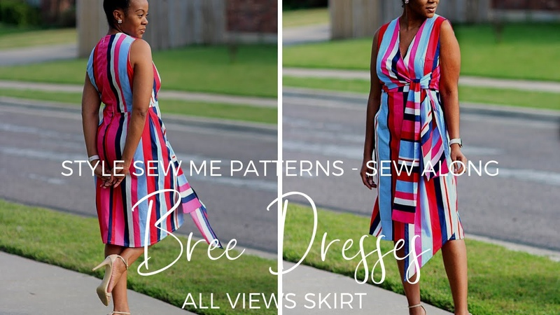 Bree Views ABC Skirt Sew Along