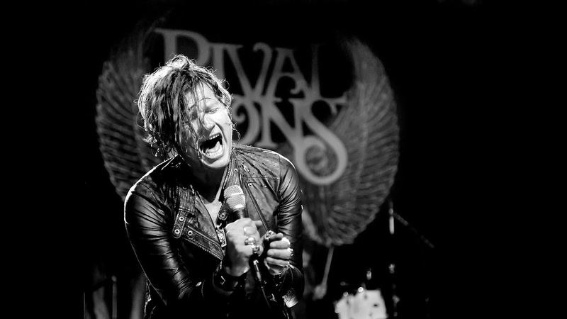 Rival Sons - Its a Mans World Live (James Brown Tribute).wmv