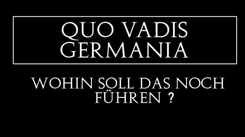 Quo vadis Germania? - Chemnitz, die Hetzjagd, die Täter, Recep Erdogan und Daniel Hillig