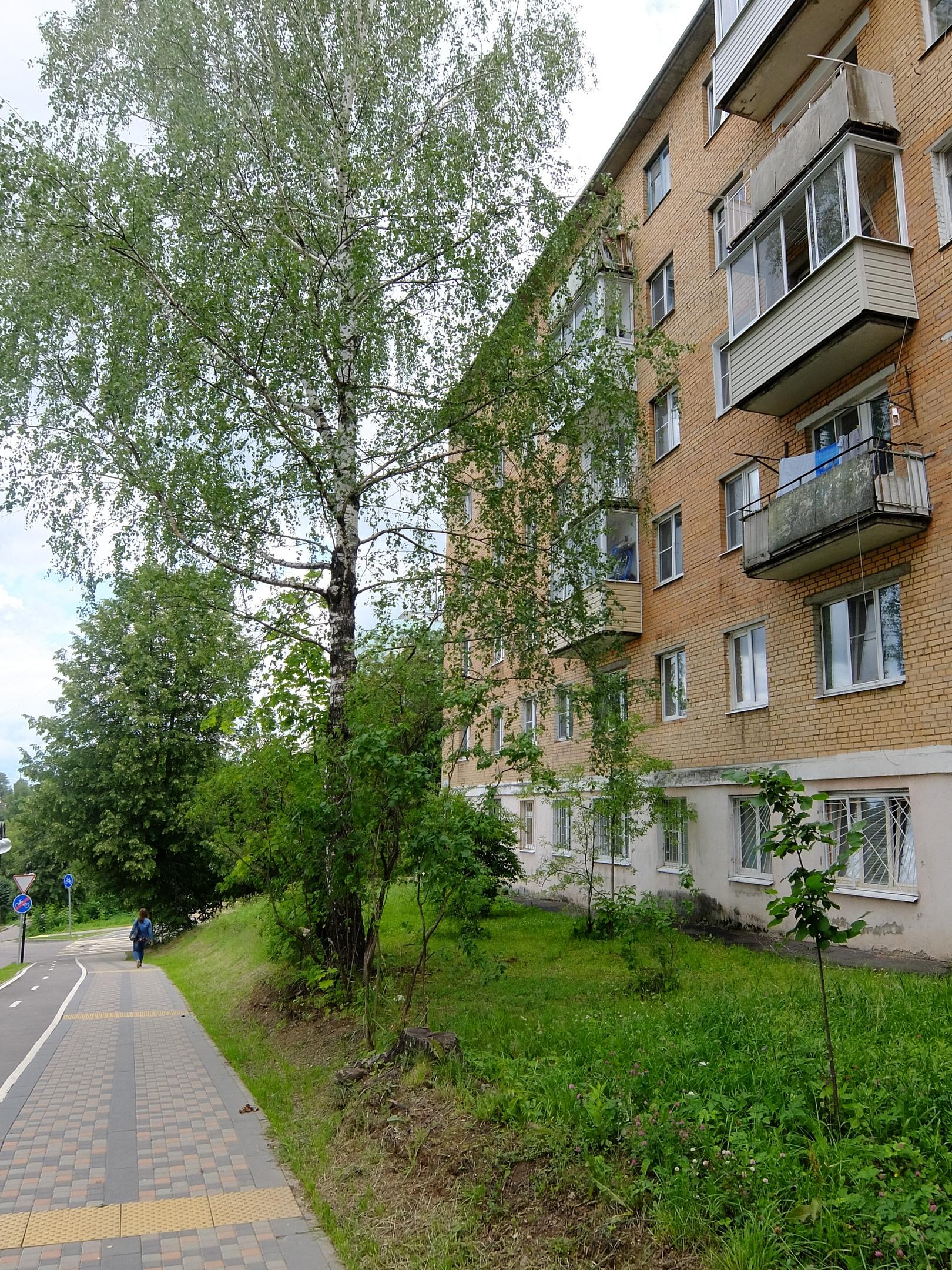 Спуск к реке по ул. А. Гайдара