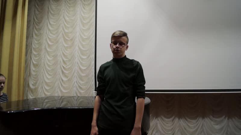С. Есенин Грубым дается радость(исполнение А.Ушакова, муз. сопровождение Потапова Виолетта)