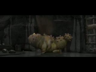 Сцена из мультфильма Как Приручить Дракона / How to Trai...